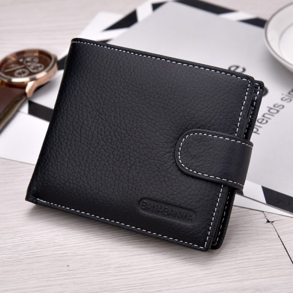 ecff6dd419747 2018 New HOT genuine leather Men Wallets Brand High Quality Designer wallets  with coin pocket purses gift for men card holder