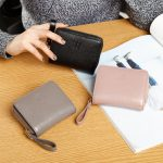 100% Real Leather Ladies Purse Female Leisure Zipper Card Holder Fashion Brief Coin Purse Women's Genuine Leather Wallets