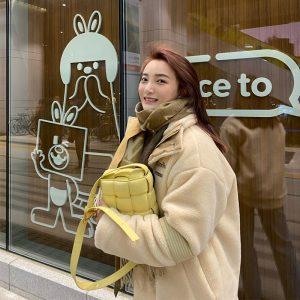 2020 New Crossbody Bags For Women Popular Weaving Genuine Leather Luxury Handbags Women Bags Designer Shoulder Bags Ladies Totes