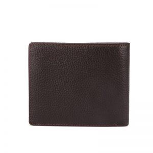100% Genuine Leather Wallets Fashion Short Bifold Men Wallet Casual Soild Wallet Men With Coin Pocket Purse Male Wallets MRF79
