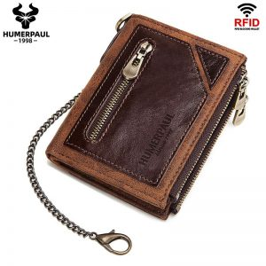 2020 NEW Designer men Wallet Genuine Leather Men's Purse Fashion male Wallets With Zipper Coin Pocket Card Holder Luxury Wallet