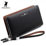 Williampolo-men's-wallet-Fashion-New-Arrival-100%-Cow-Leather-Business-Solid-Zipper-Long-Mens-Clutch-Wallet-Male-Handbag-Wallet