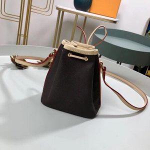 HOT 2020 New Luxury design Women's Shoulder Bags High-quality genuine leather MINI Bucket bag Fashion NAN0 N0E Bag Free shipping
