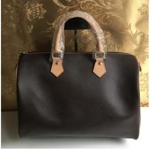 Woxk new good quality women's Handbag Polyurethane speedy bag 30/35cm Free shipping