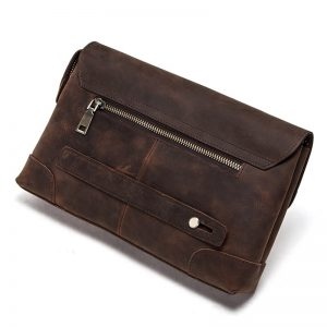 Contact's Free Engraving Crazy Horse Leather Men Wallet Vintage Long Clutch Bag Gift Male Travel Walets Coin Purses Card Holder